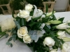 White Rose and Lilly Hand Tied