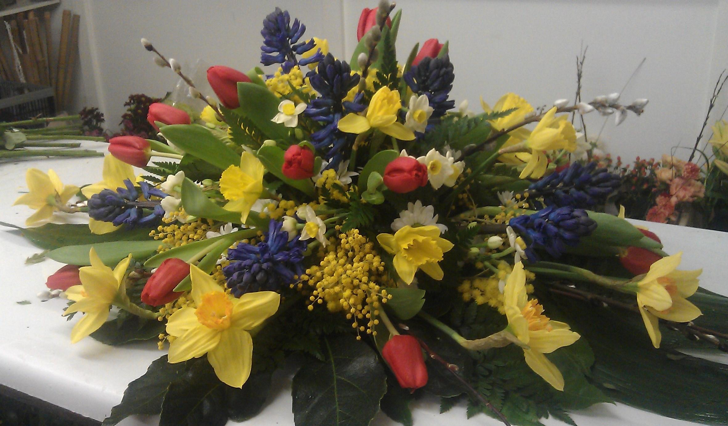 Coffin Flowers