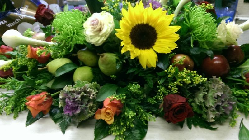 Casket Spray Flower Arrangements First Impression Flowers