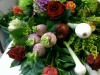 Fruit and Veg Coffin Flowers