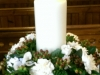 Church Candle Pedestal