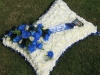 Football Themed Funeral Flowers