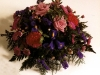 floral funeral posy 12""