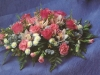 floral funeral posy 14""