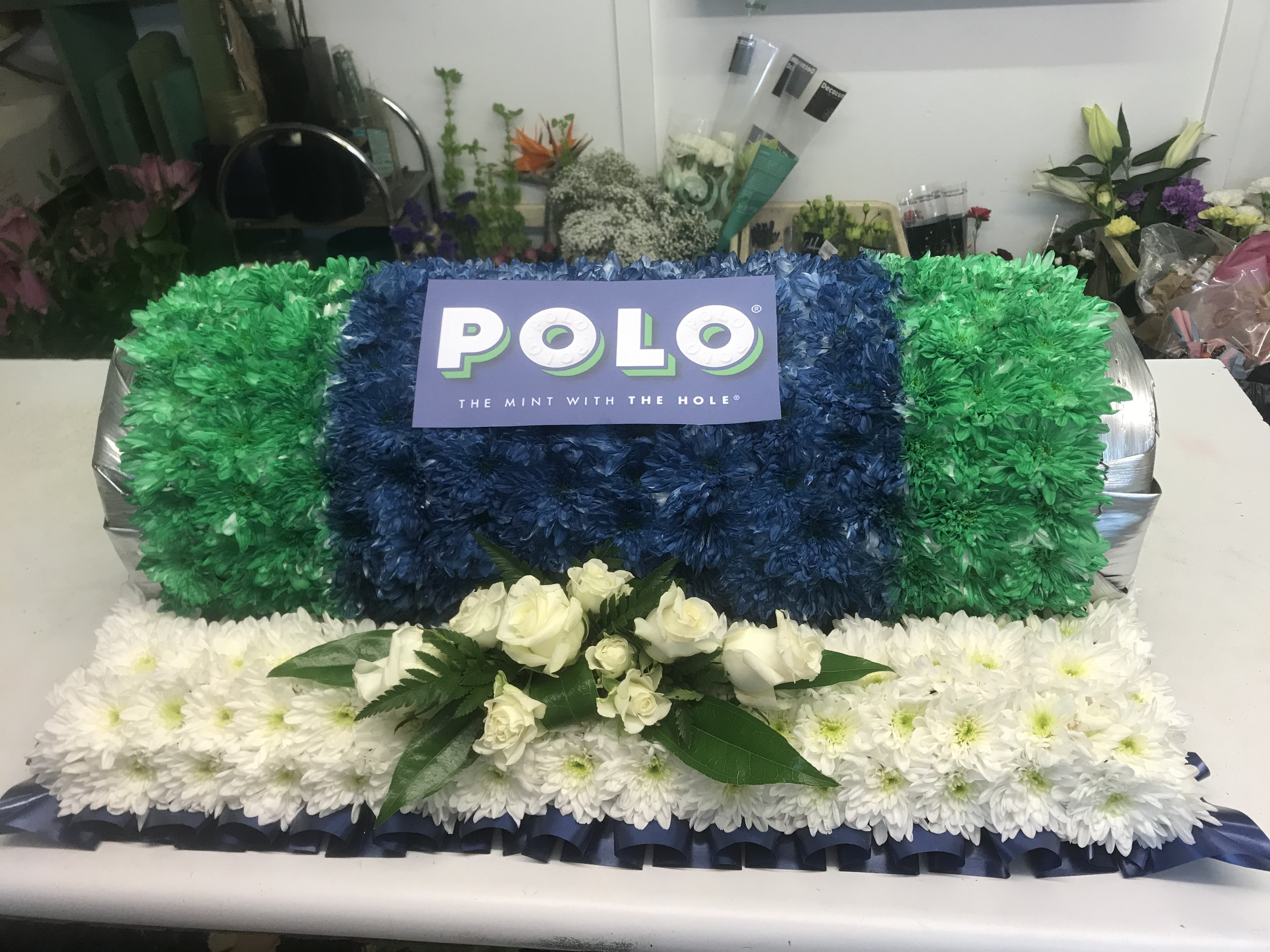 Polo Mints made from flowers