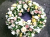 Fragrant funeral wreath 20""
