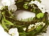 woodland/rustic style funeral wreath 14""