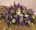 Funeral flowers - casket sprays
